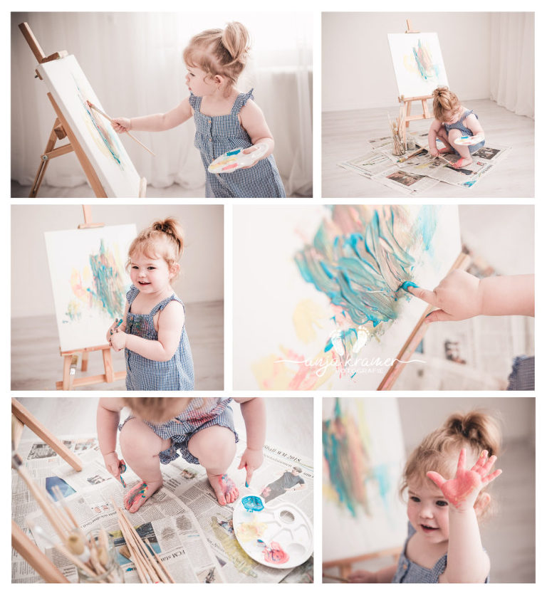 Babyfotos zum 2. Geburtstag